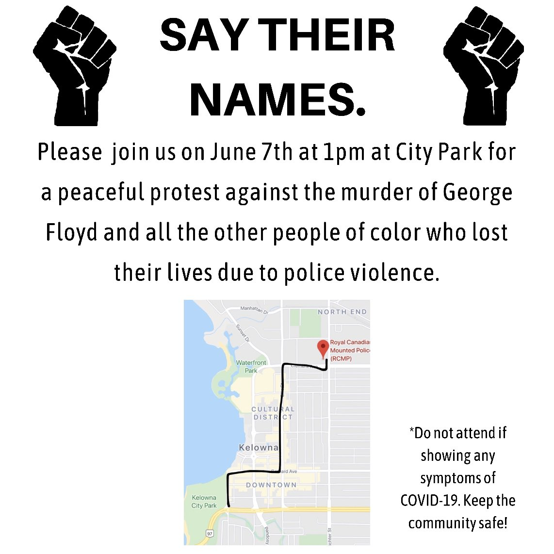 if youre in #kelowna please consider coming to the protest!! repost and share if you can:) pic.twitter.com/3UjU3wYLEv