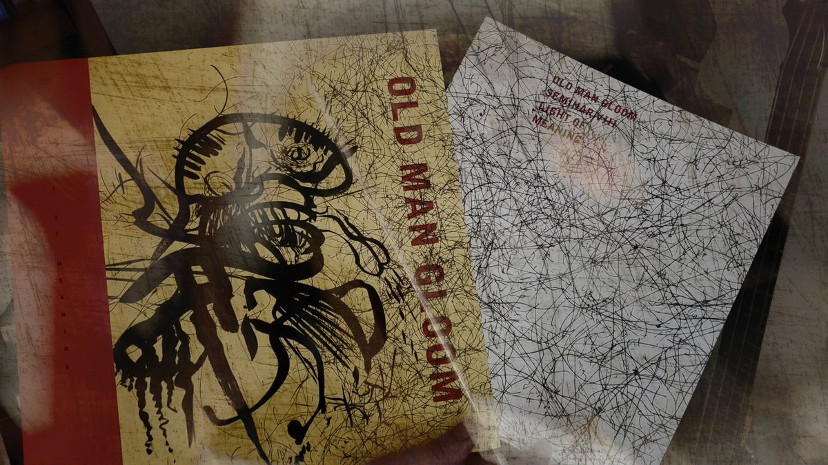 YESSSSSSSSSSS...  @oldmangloomband #OldManGloom #OldManGloomBand #SeminarVIII #LightOfMeaning #NewAlbum #NewRelease #Vinyl #VinylOfInstagram #PostMetal #PostRock #Sludge #SludgeMetal #HeavyMetal #HeavyMusic #Music #InMemorium #CalebScofield #RestInPower #TooManyHashtagsBropic.twitter.com/hArQ8csCSZ