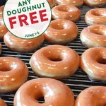 Image for the Tweet beginning: #NationalDoughnutDay is coming! And this