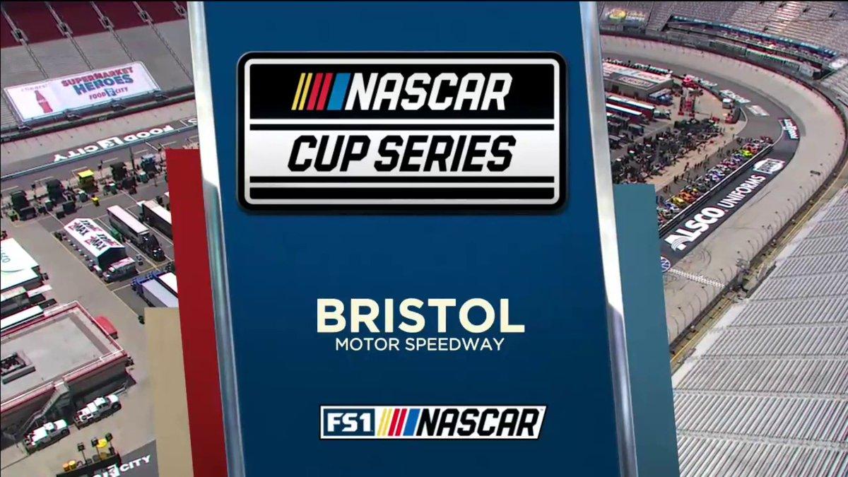 Let's go short-track racing! Bristol coverage is rolling NOW on FS1, https://t.co/kL92FRtslr and the FOX Sports App.  #NASCARonFS1 https://t.co/5kjVEbaT8o