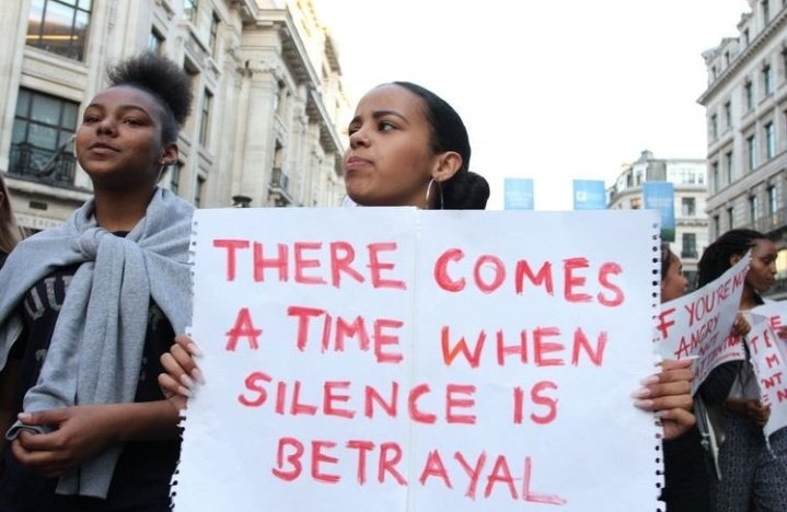 Silence is a betrayal. #KeaDrive pic.twitter.com/xOURlaCkSE