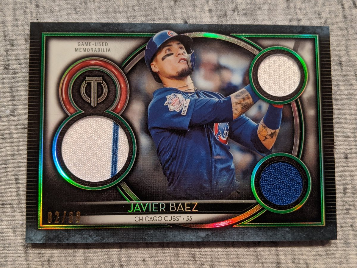 Let's kick this account off the right way. WITH A GIVEAWAY. All you have to do is:  1. Follow @IvyIcons  2. Like and Retweet this post 3. Tag a friend/Cubs collector  Winner will be selected around 8 p.m. CST on Sunday, June 7, 2020. https://t.co/zwC7bypJeh