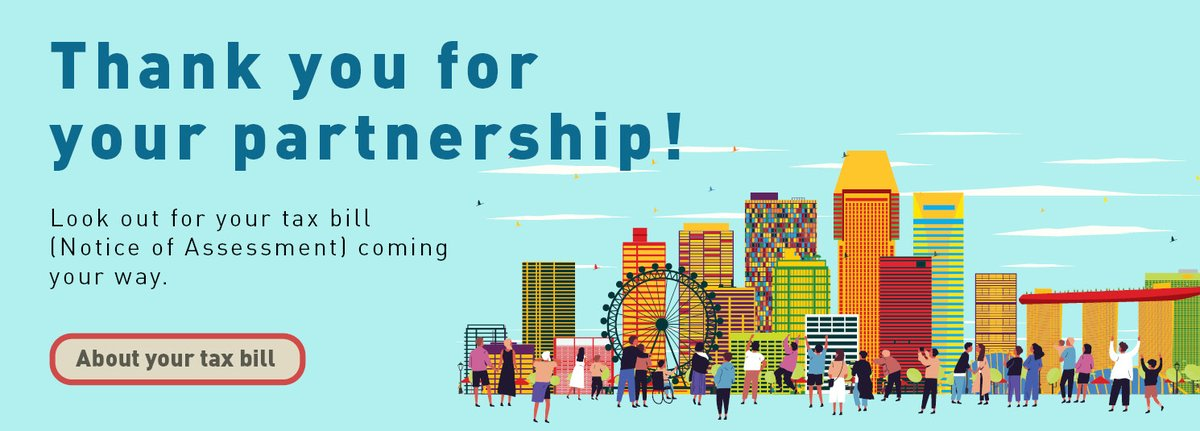 Taxpayers, thank you for your partnership! Individual Income Tax Filing Season 2020 has come to a close. Visit https://t.co/jRN6UhmkgL to learn more about your tax bill. #TaxSeason2020 Visit https://t.co/UZG4f0ee76 for more info on applying for a longer GIRO payment arrangement. https://t.co/e7D34q3O4f