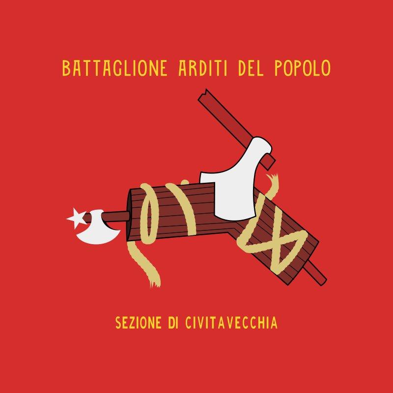BandeiradoArditi del Popolo,organização antifascista deCivitavecchia. Mostra um machado cortando ofasces(símbolo adotado pelo fascismo). pic.twitter.com/lRlmKgepIJ