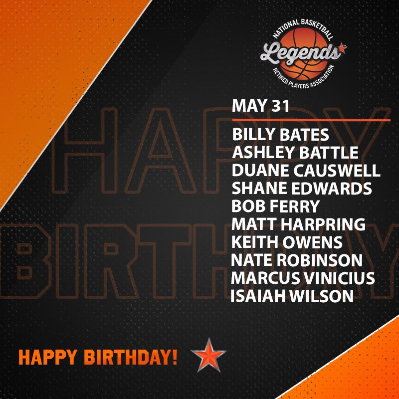 Wishing a HAPPY BIRTHDAY to these #NBA and #WNBA Legends 🎉  #LegendsofBasketball #NBABDAY #WNBABDAY https://t.co/41JZly1nWV