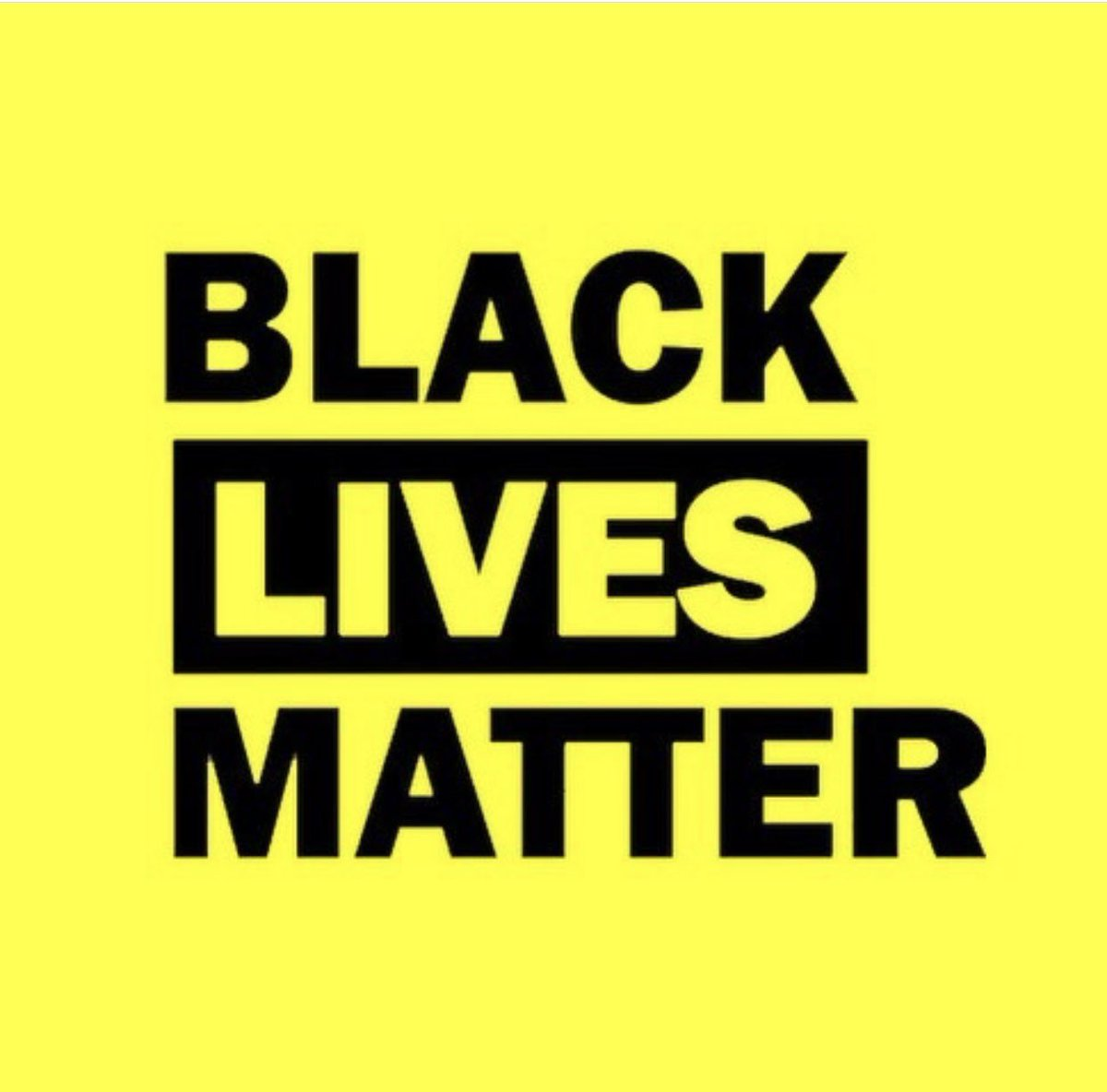 I wish this was needless to say... #BlackLivesMatter
