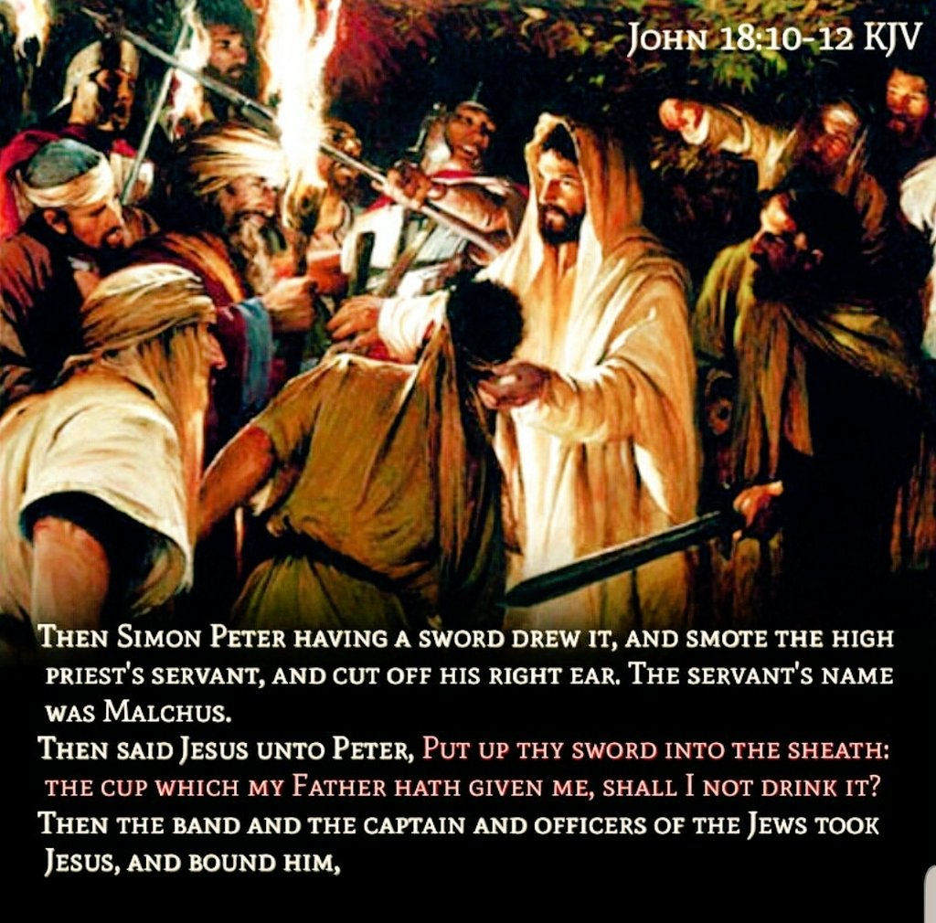 """RichNChrist on Twitter: """"#ThingsJesusSaid, Put up thy sword 🗡 into the  sheath. Things Wyatt Erp said, """"Accuracy is everything!"""" 🎯  #RiotersAreNotProtesters A #Prudent #Man foreseeth the evil, and hideth [# Guards] #Himself: but"""