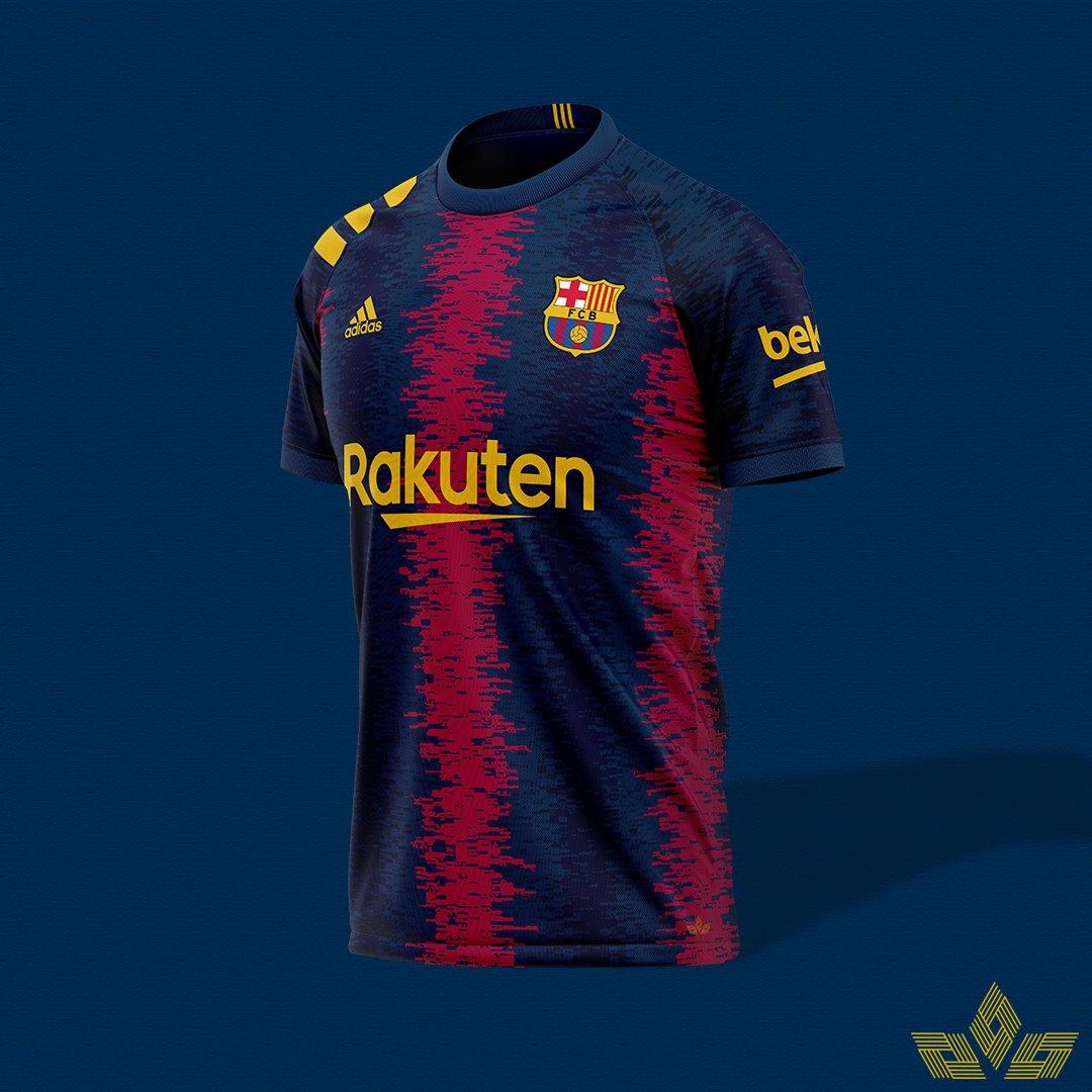 What if: Barcelona to Adidas.  #Barcelona #ViscaBarca #blaugranapic.twitter.com/cGwqBiGTXW