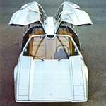 Image for the Tweet beginning: The 1970 #wedge #gullwing #design