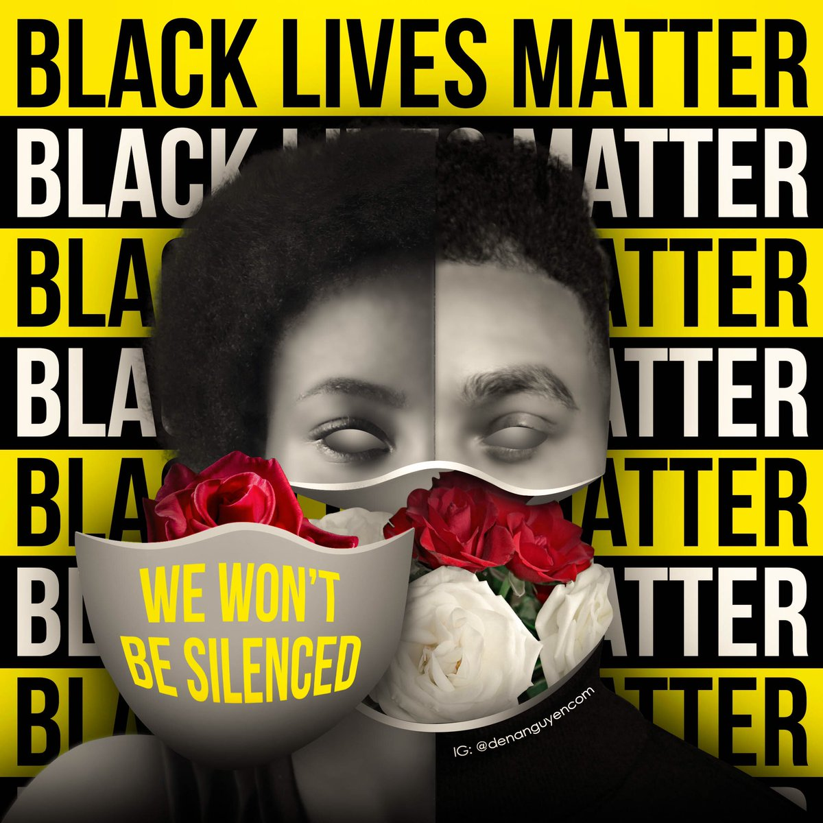 We won't be silenced. #BlackLivesMatters https://t.co/ujLnCYrwBS