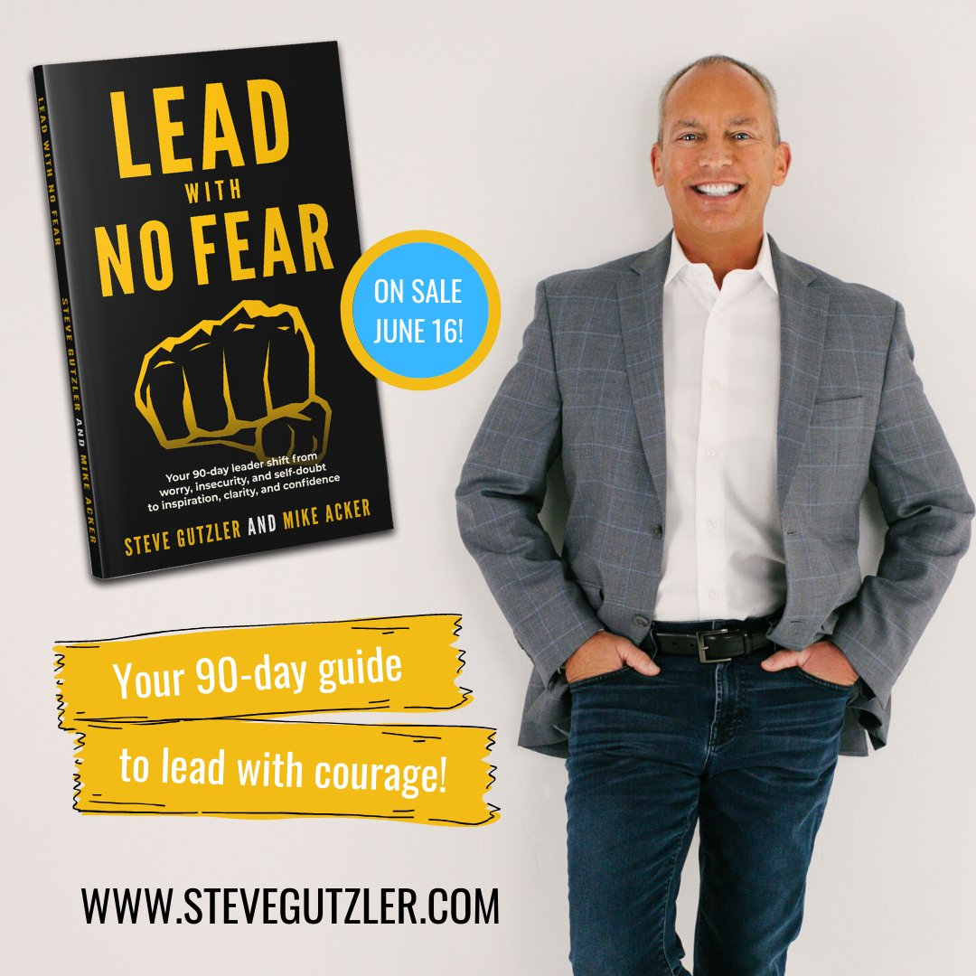 To lead with no fear, you need to eliminate these words:  * I can't * If only * I don't think * I don't have time * Maybe * I'm afraid * I don't believe   Learn more in my upcoming book 👉🏻 https://t.co/ywgreyEKwO  #confidence #leadership #leaders #goals #selftalk #potential https://t.co/Vn0OVrSVst