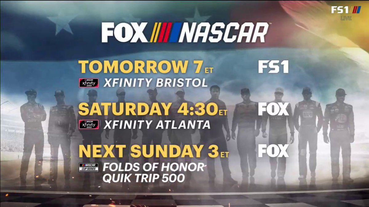 Don't miss @KurtBusch and @KyleBusch in the NASCAR Xfinity Series booth tomorrow night on FS1! https://t.co/qncXGZ7ywN