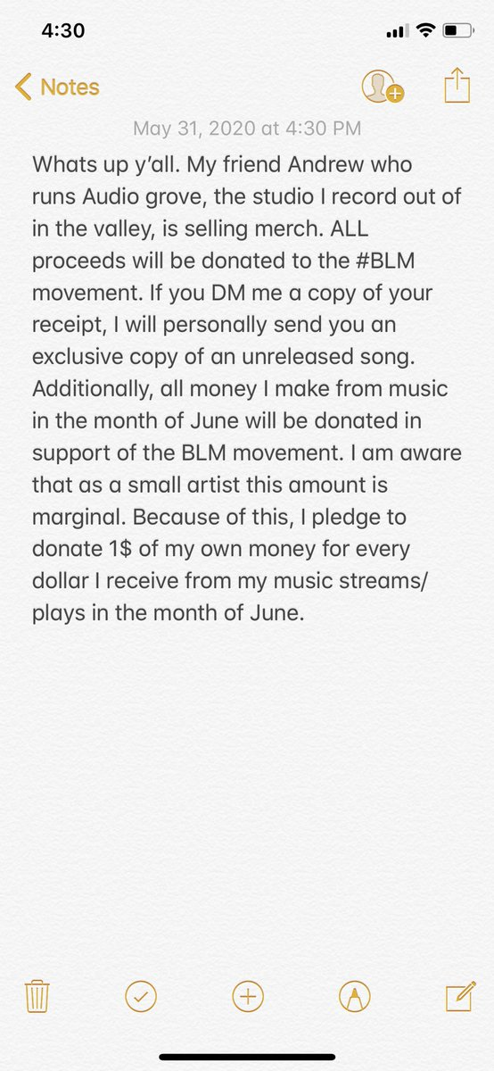 Show support! All proceeds will be donated to the BLM movement audiogrove.myshopify.com/#LatinosForBla… #BLM