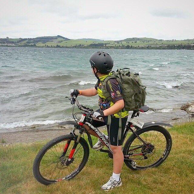 Kahu™ backpack at the Lake Taupo Cycle Challenge. #kiwidition #kahu #edc #everydaycarry #urbanjungle #tactical #tacticalgear #gear #urbanpack #camp #trek #trial #hike #bushkraft #survival #journey #adventure #travelpic.twitter.com/mFlp0mE6Qx
