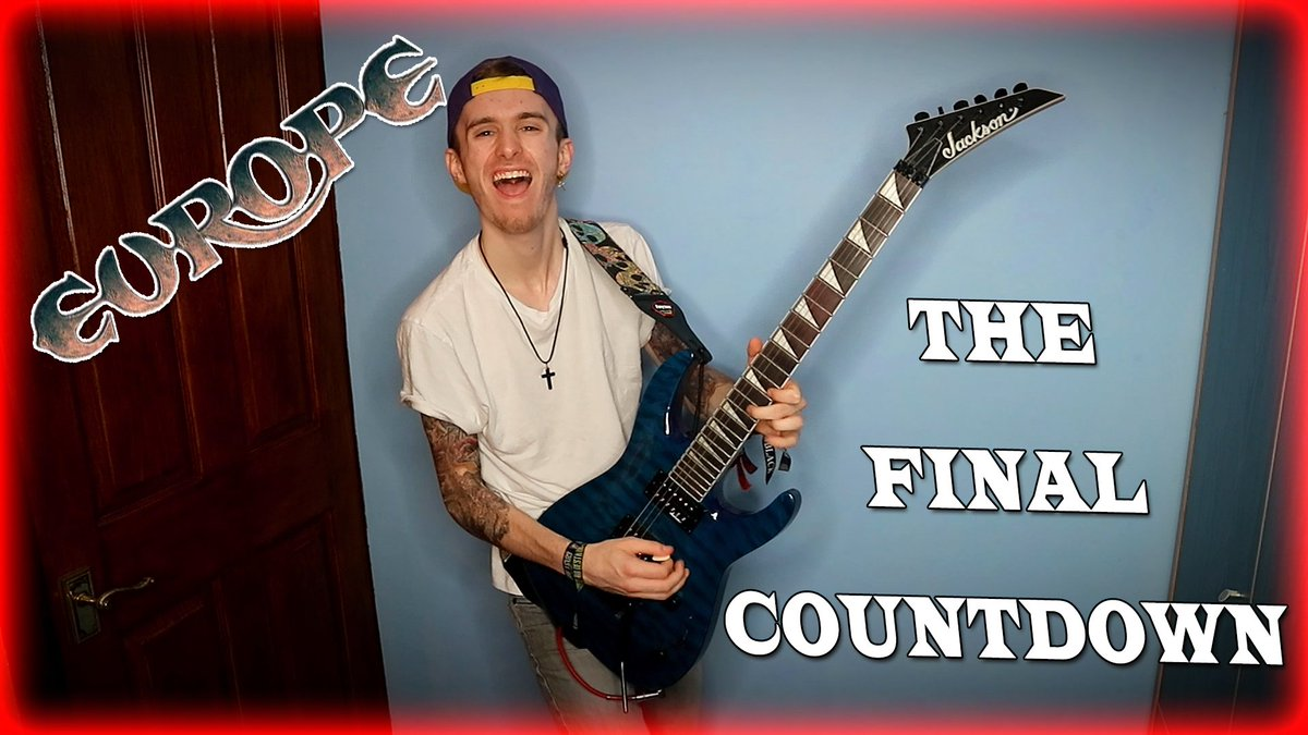 The Final Countdown electric guitar cover out now on my youtube - https://youtu.be/WKJBS9aLtAM   #europe #thefinalcountdown #electricguitar #guitarsolo #shredguitar #shredding #shred #wow #youtube #artist #guitarist #musician #sharepic.twitter.com/yzKulOI45Y