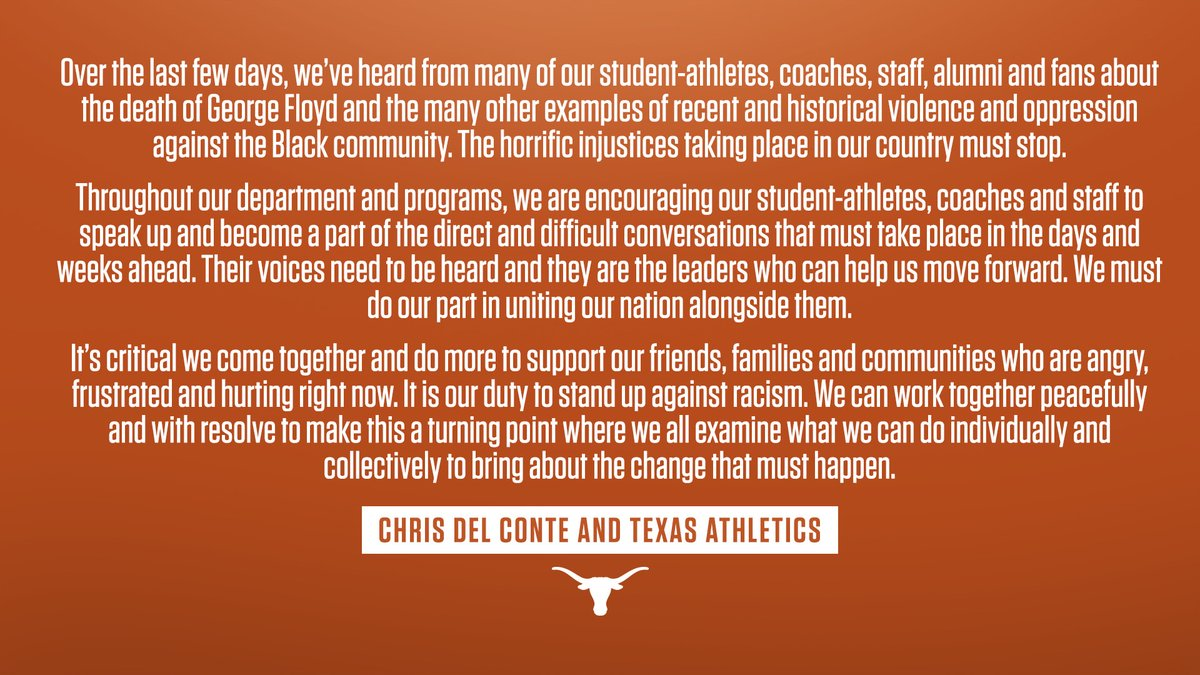 Texas Longhorns (@TexasLonghorns) on Twitter photo 31/05/2020 21:46:26
