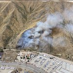 Image for the Tweet beginning: One #LACoFD aircraft will remain