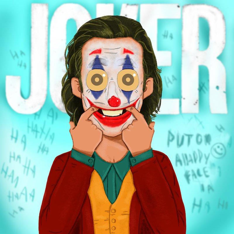 Put on ahappy face #hakouna_matata #jokermovie #Joker #zool_toonpic.twitter.com/c3Qu7nHn19