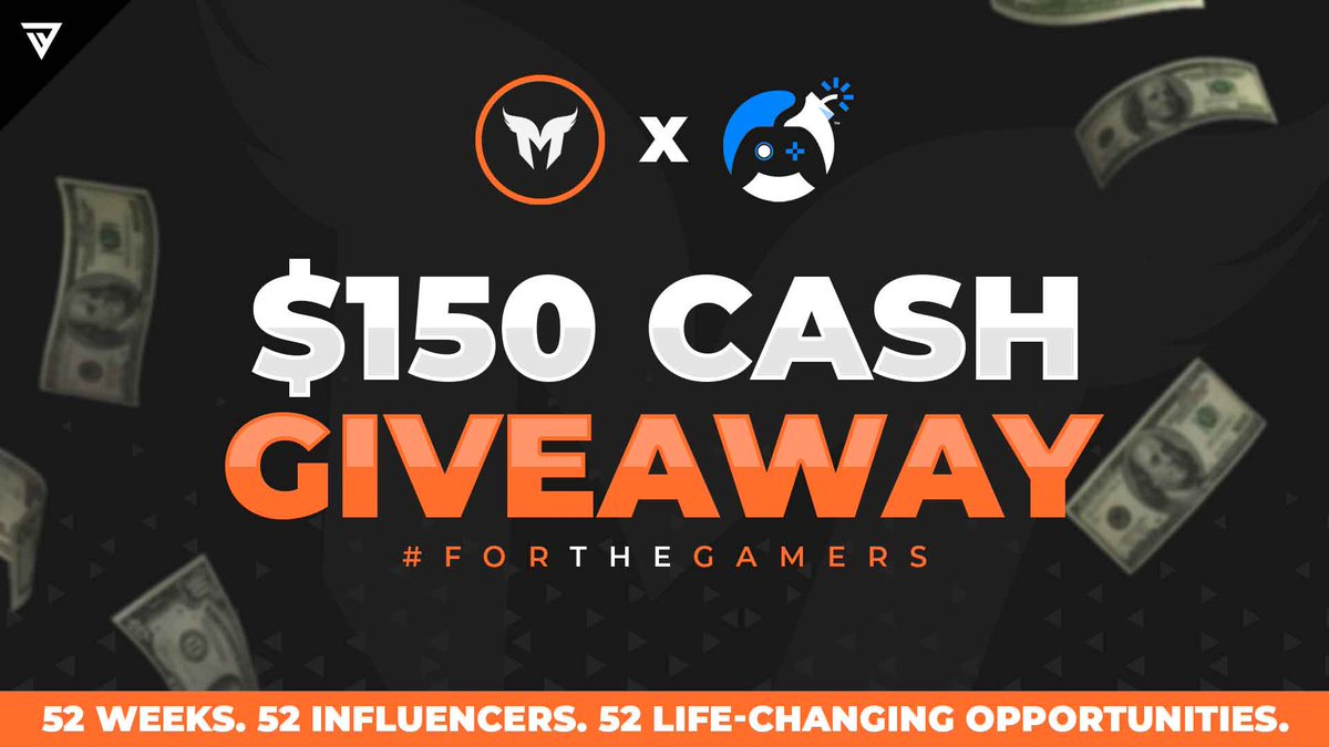 $150 Cash #Giveaway   Like & RT Reply with #ForTheGamers Follow @MavrikGG & @eFuseOfficial     Enter Here   https://efuse.link/Mavrik pic.twitter.com/Bb7G1mmu0K