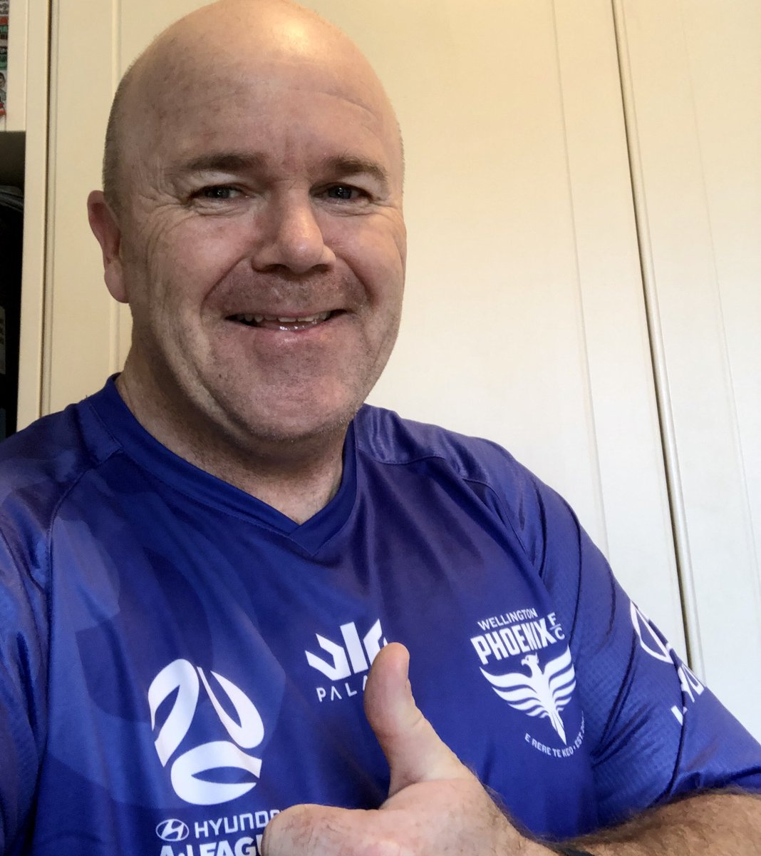 Love it when you get 2  of your favourite things @WgtnPhoenixFC & @mentalhealthnz in 1 ! Great shirt/message - proud 2b  a passionate supporters of both thanks 2 @footycentralnz 4 keeping me updated with the delays they have finally hit Akl #COYN #Mentalhealthmatters 💛🖤💜💛🖤💜 https://t.co/BjMkiUyrCu