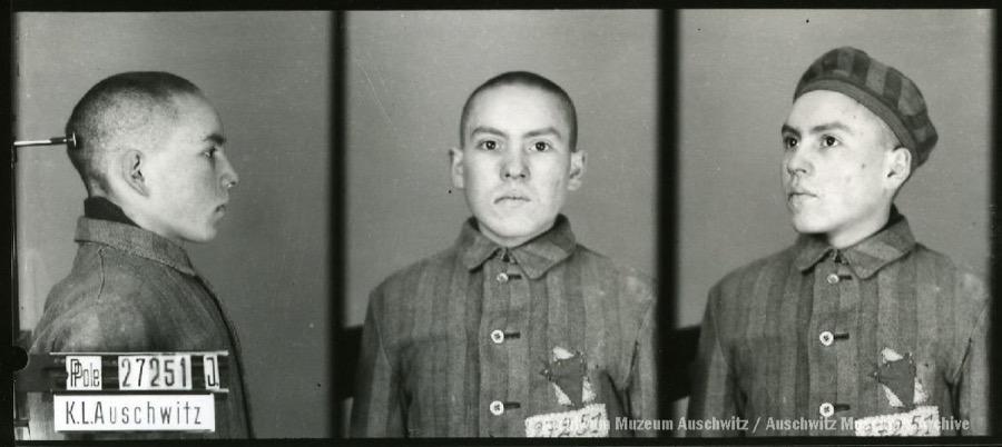 1 June 1925   Polish Jew Josef Markowicz was born in Działoszyce.  In #Auschwitz from 26 March 1942. No. 27151 Date of death: 2 April 1942. https://t.co/LMOfYiXdKM