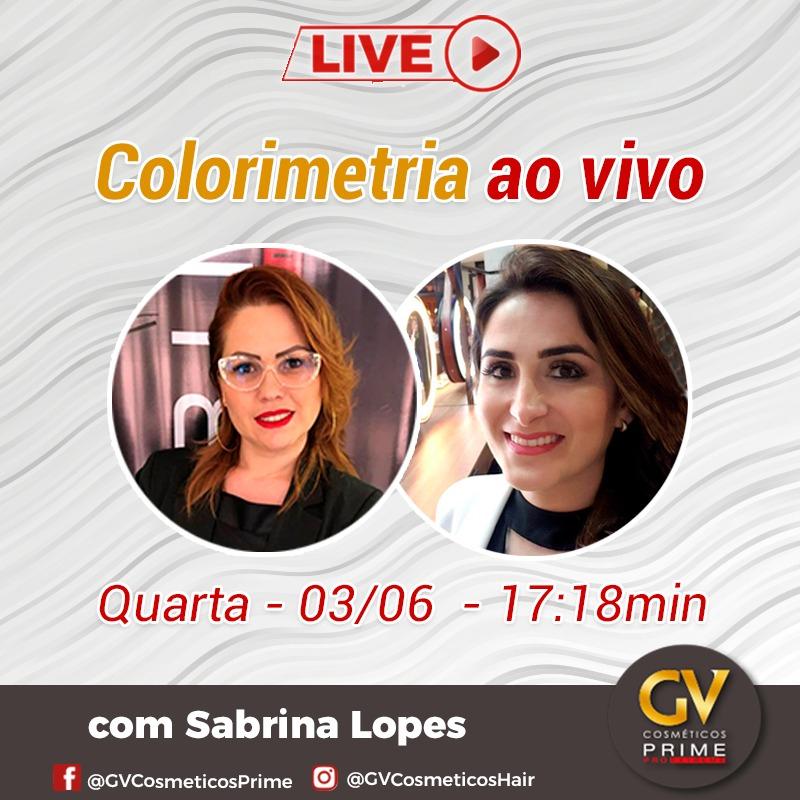 COLORIMETRIA AO VIVO! Será no instagram @gvcosmeticoshair. Agenda aí: Quarta, 03/06, às 17:18. #live #colorimetria #sabrinalopes #conhecimento #hair  #canoas #riograndedosul #beleza #portoalegre #primeproextreme #gvcosmeticos #sucesso #hairstyle #cabeleireiropic.twitter.com/Lw2VRSfgzF