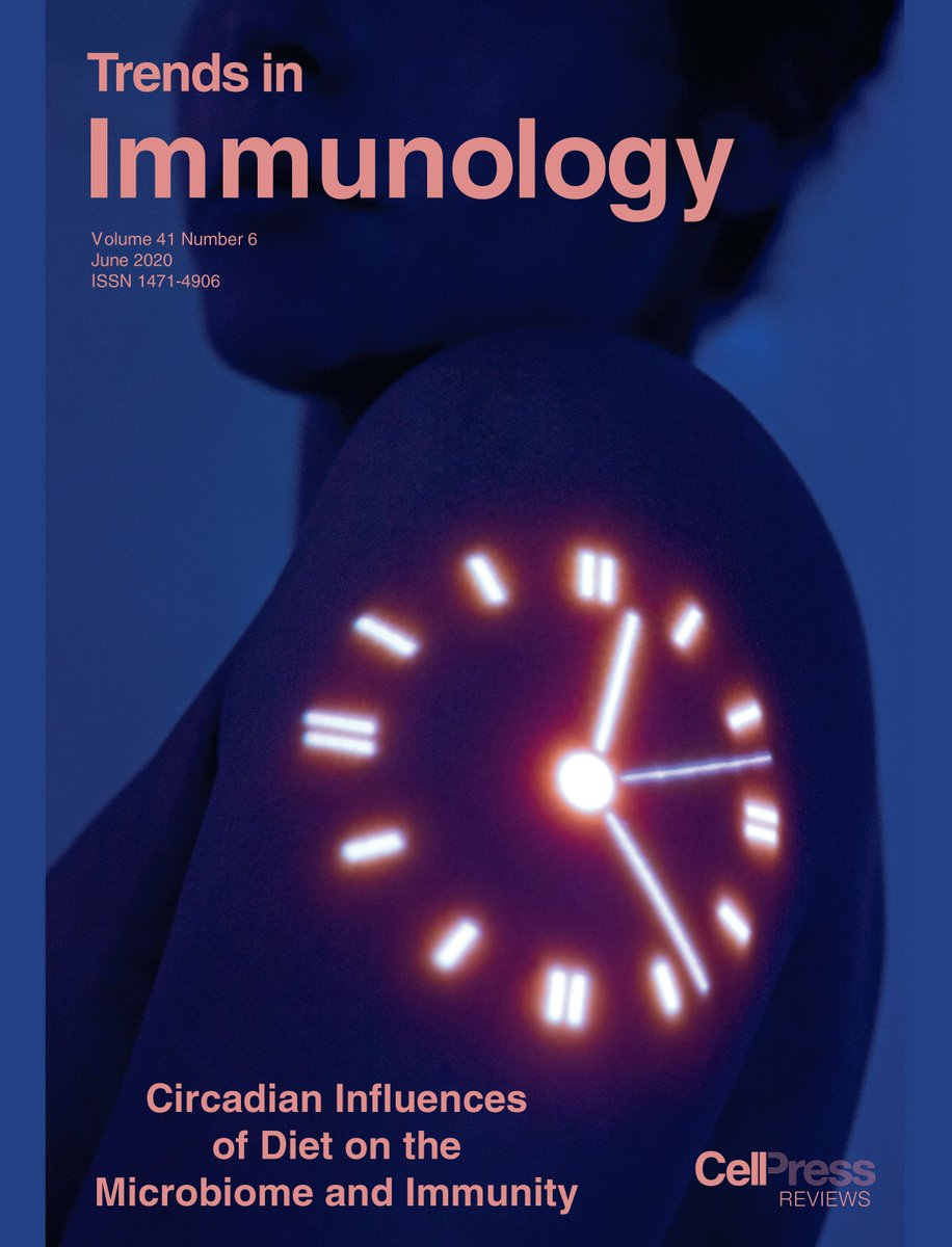 @TrendsImmuno June issue is out!! #Circadian & #Diet & #Microbiome & #Immunity, #HIV, #virus infections & #vaccination, #COVID19, #skeletal #muscle #regeneration & #macrophages, #smallmolecules & #immunotherapy, #resident #memory #Tcells & more!