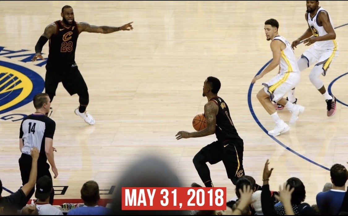 May 31st is National JR Smith Day from now on 😂🐐 https://t.co/NQO4p9JWB9