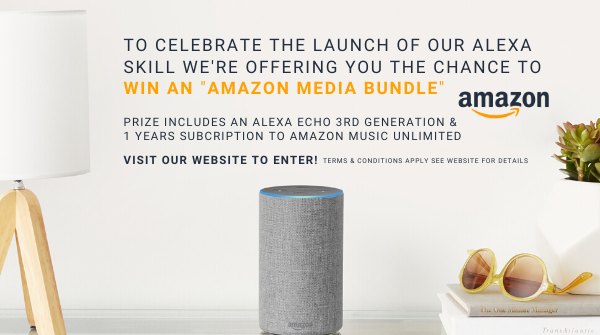 """New Competition   To celebrate the launch of the @UKSerenityRadio Alexa Skill  We are giving away  1 x Amazon Media Bundle https://bit.ly/AmazonBundleSR  """"Alexa, Enable Serenity Radio London""""  #Competition #Win #Electronic #AmazonSkill #RT #Share #Winner #Prize #Rewards #AlexaEchopic.twitter.com/pAEWteBZU2"""