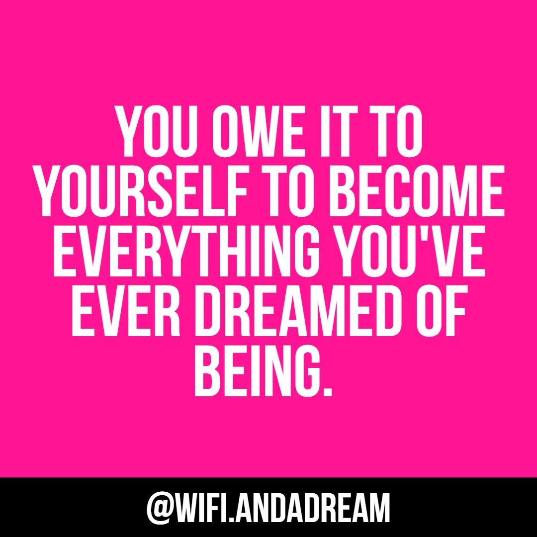 Real talk! Remember you are more than worthy of achieving all of your dreams and goals!  * http://WWW.WIFIDREAMMERCH.COM ⁠ *⁠ #wifi_andadream #buildingabrand #womeninbusiness #bossladymindset⁠ #enlightenment #dreamersanddoers⁠ #creativebusinessowner #girlpower⁠pic.twitter.com/AbJaTFst6R