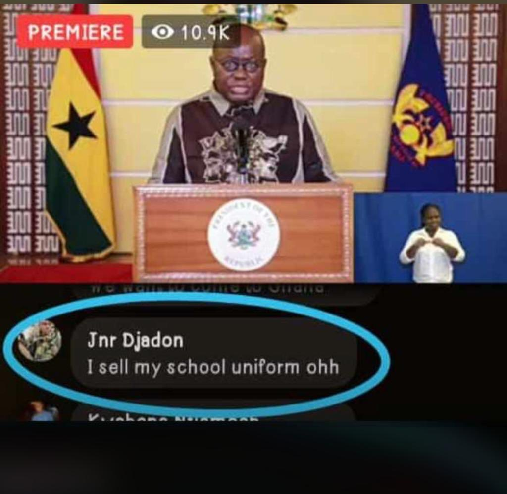 Eiiiii this one broke me down... Nana Addo must see this ooo  #EntertainmentBuzz #ghana #news pic.twitter.com/kScL2epvPT