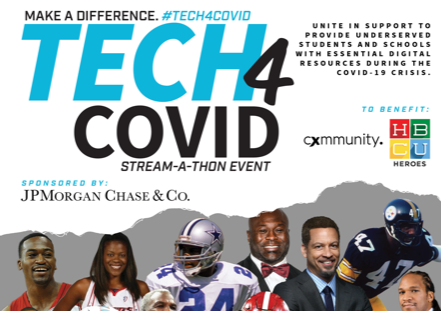 Want to support? Donate to #Tech4COVID.  Currently raising awareness & funds for under resourced K-12 kids, HBCU & black students in need of essential technology during the COVID-19 crisis.    Donate Here: https://t.co/JCfKWWiB1D https://t.co/biY6AsGDMG