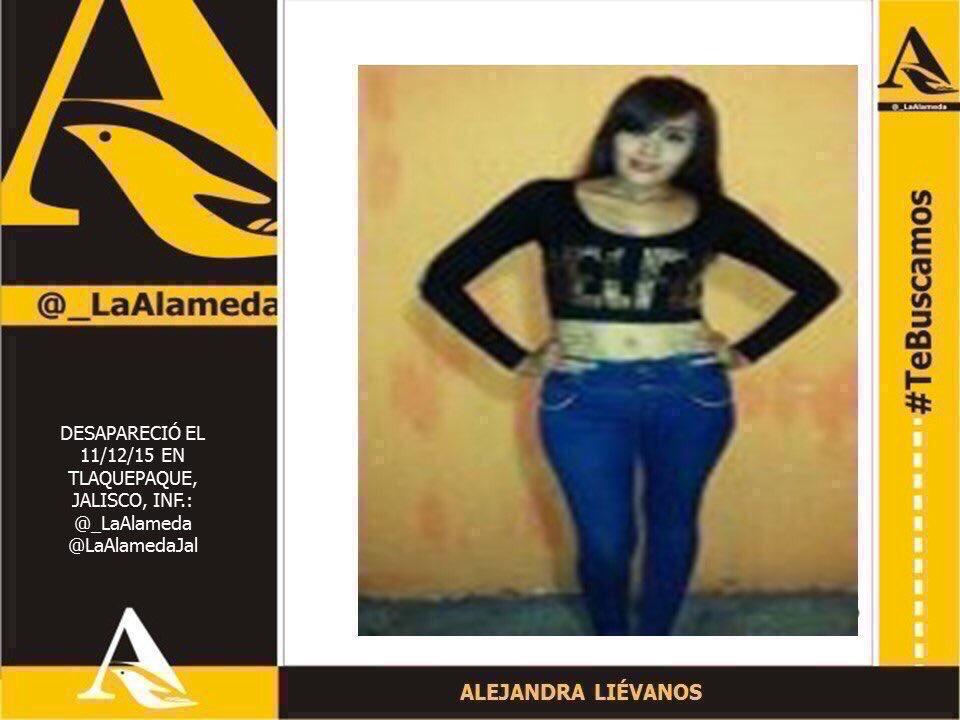#TeBuscamos Alejandra Liévanos . Tlaquepaque, Jalisco  #Tlaquepaque #Jalisco https://t.co/pzA2orep2i