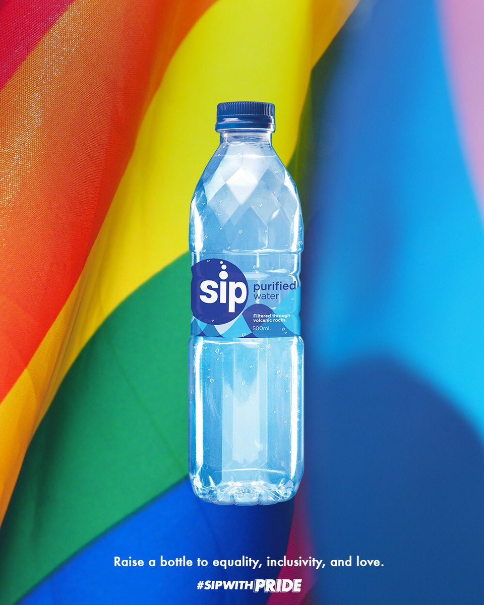 Raise a bottle to equality, inclusivity, and love. #SipWithPride https://t.co/1rRxYCyRzs