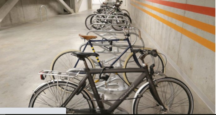 Tiny apartment, big bicycle? Experts offer storage tips. bos.gl/p9UWQ2H #renting #cycling #realestate