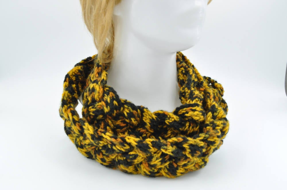 Crocheted Braided Scarf / Women Cowl necklace / Trendy women clothing / winter fashion Black Friday Sale https://etsy.me/2zKMzgR  #Happinesseverywhere #craftychaching #HappyMonday #Supportsmallbusiness #Womeninbusiness #mntt #Pottiteam #Kissteam #happysockspic.twitter.com/bTztFJxPQP