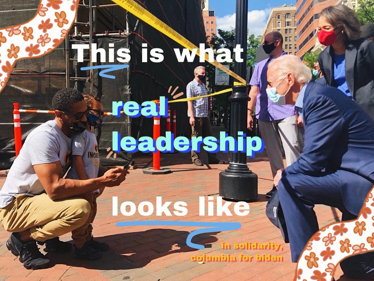 Columbia University For Biden