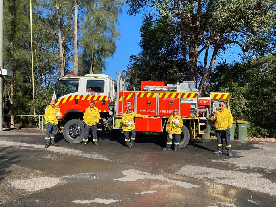 So proud to have joined the @NSWRFS & be part of a fantastic brigade at Kenthurst. I have wanted to do this for so long and had many Saturday afternoons in training. Look forward to serving our community & being part of the first responder crew #GetInvolved