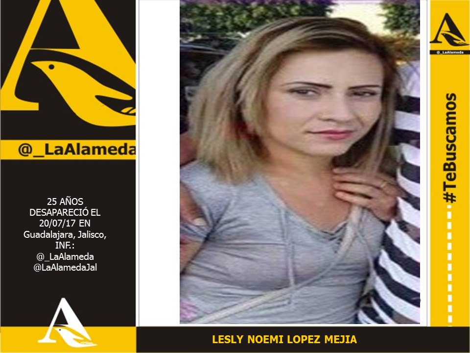 #TeBuscamos Lesly Noemí López Mejía, 20/07/2017 #Tlaquepaque #Jalisco https://t.co/NqllsPYSXy