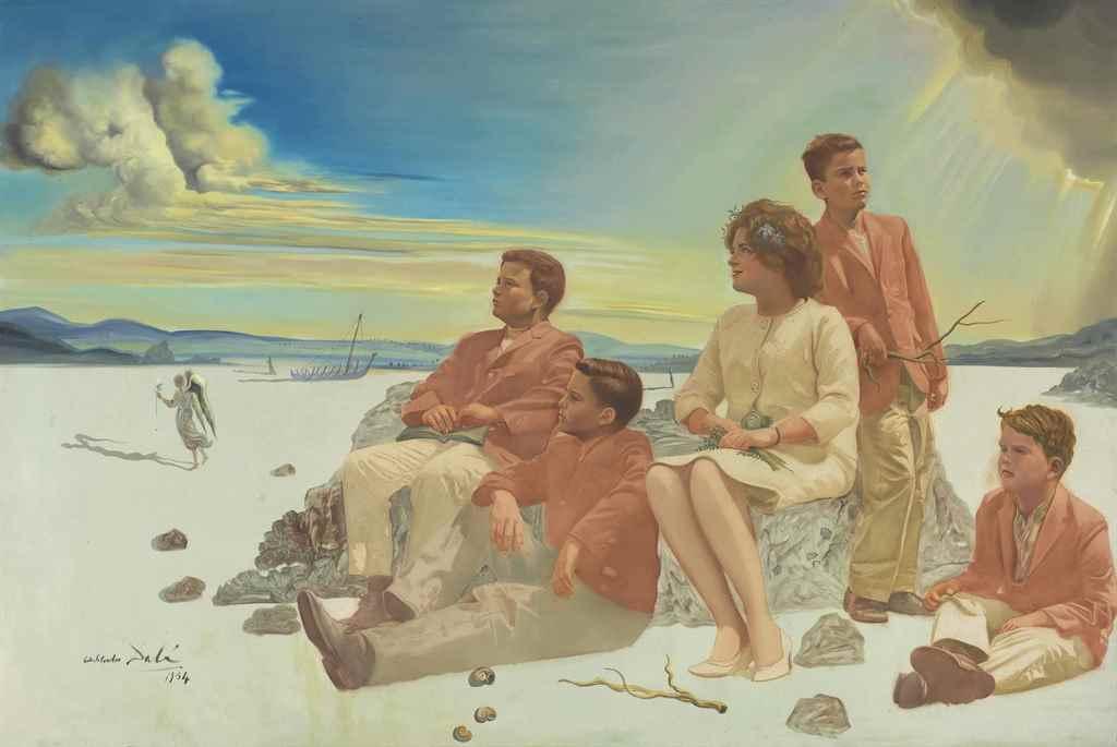 Portrait of the Briggs Family (1964), 1964 #spanishart #dali pic.twitter.com/dZCgFmSSR8