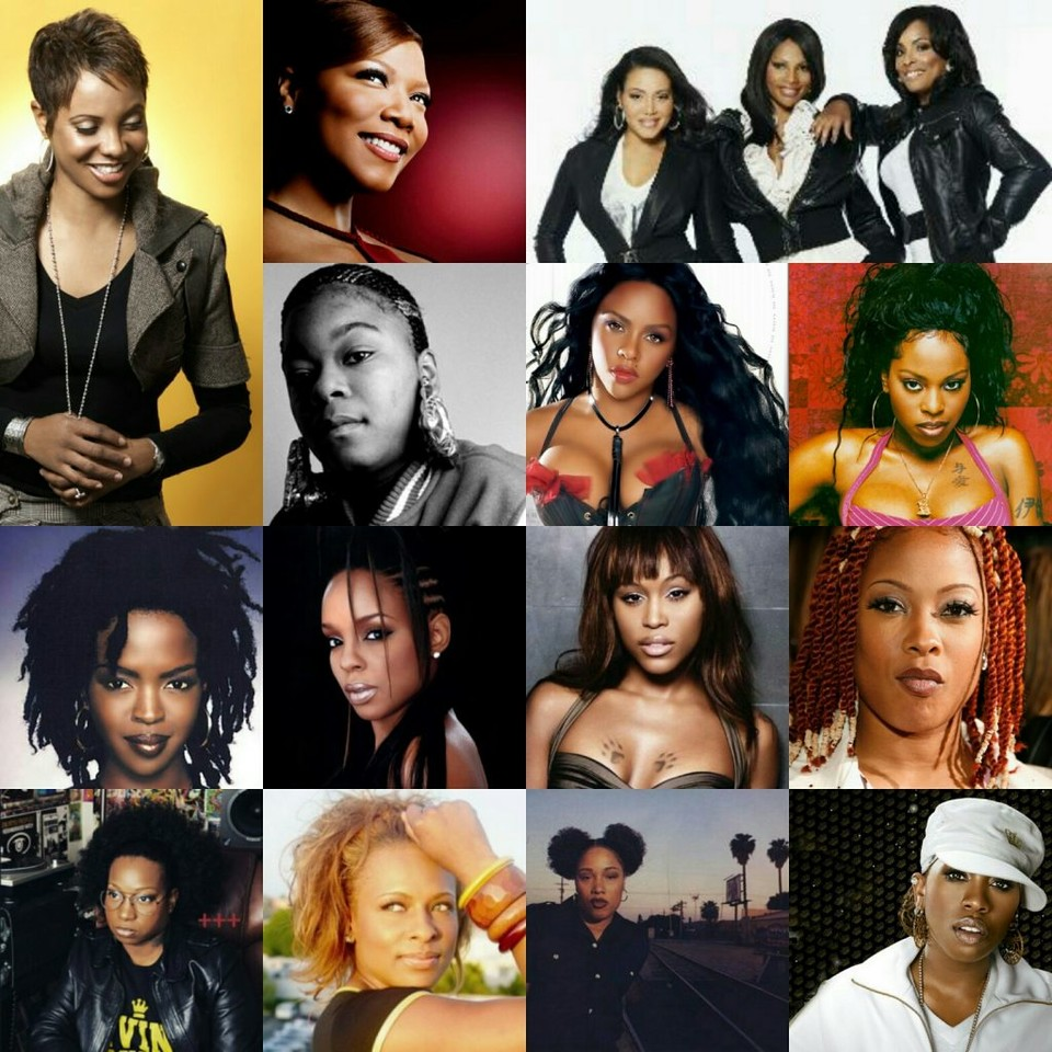 """We will continue honoring women in #hiphop throughout the month of June. We're going to return to the """"I Got Love For The Game"""" series in July.  Who do you consider to be The G.O.A.T? What's your favorite female emcee? pic.twitter.com/bPKxZJb2Ca"""