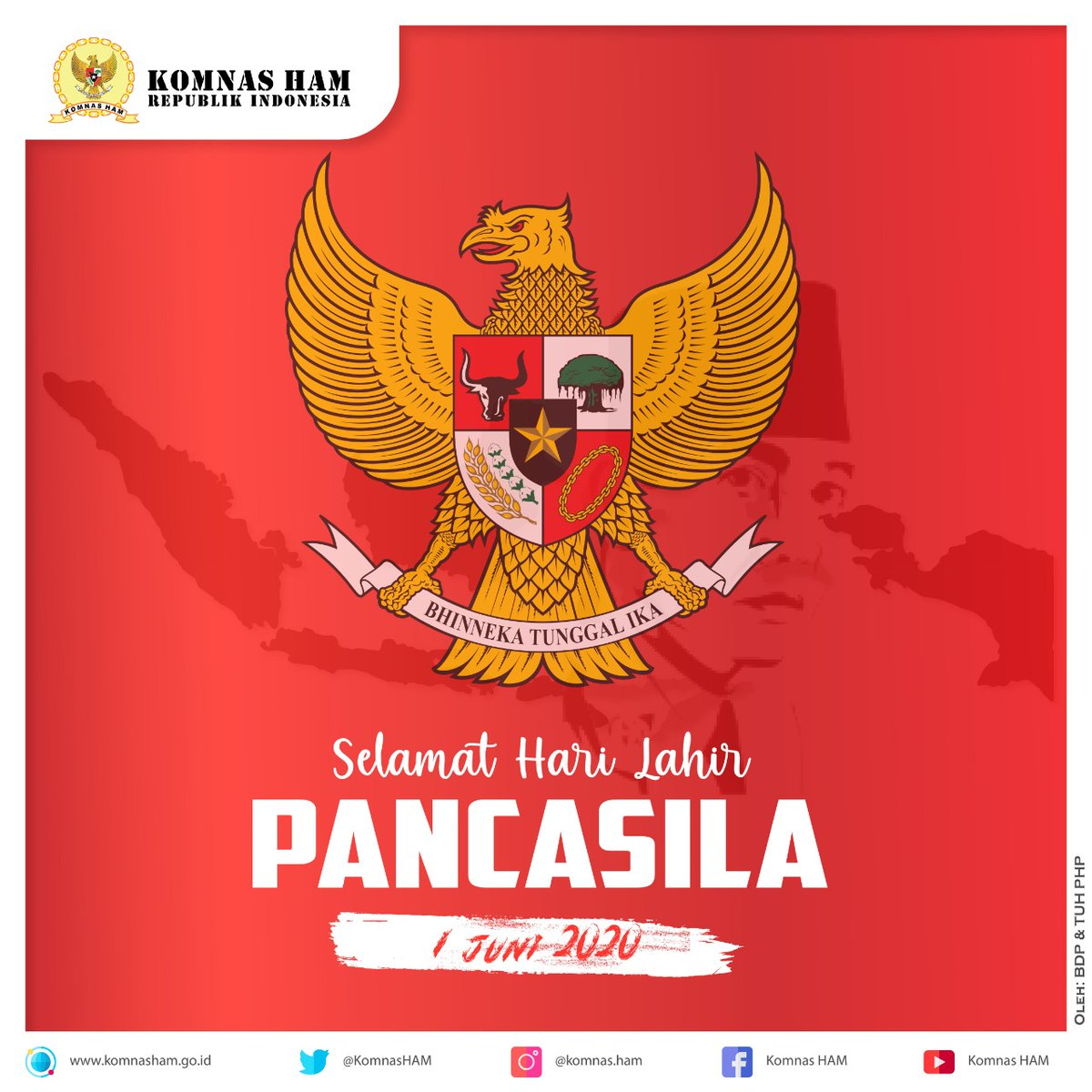 Pertama-tama, saudara-saudara, saya bertanya: Apakah kita hendak mendirikan Indonesia merdeka untuk sesuatu orang, untuk sesuatu golongan?  Apakah maksud kita begitu ? Tentu saja tidak !!   (Soekarno, 1 Juni 1945) https://t.co/7Ald9yxLF0