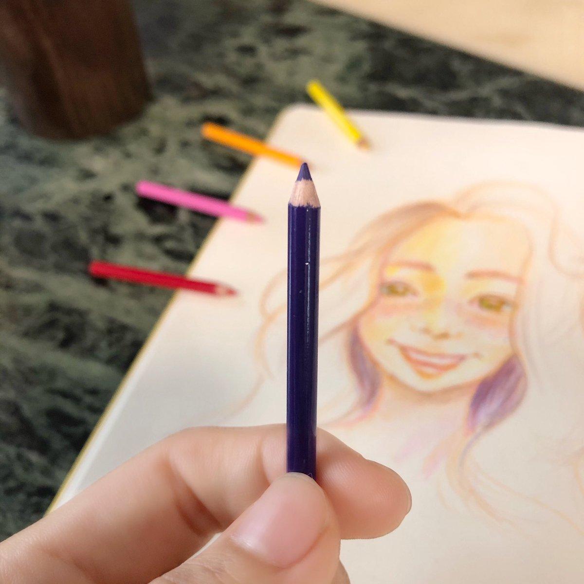 ちっちゃい色鉛筆✏︎