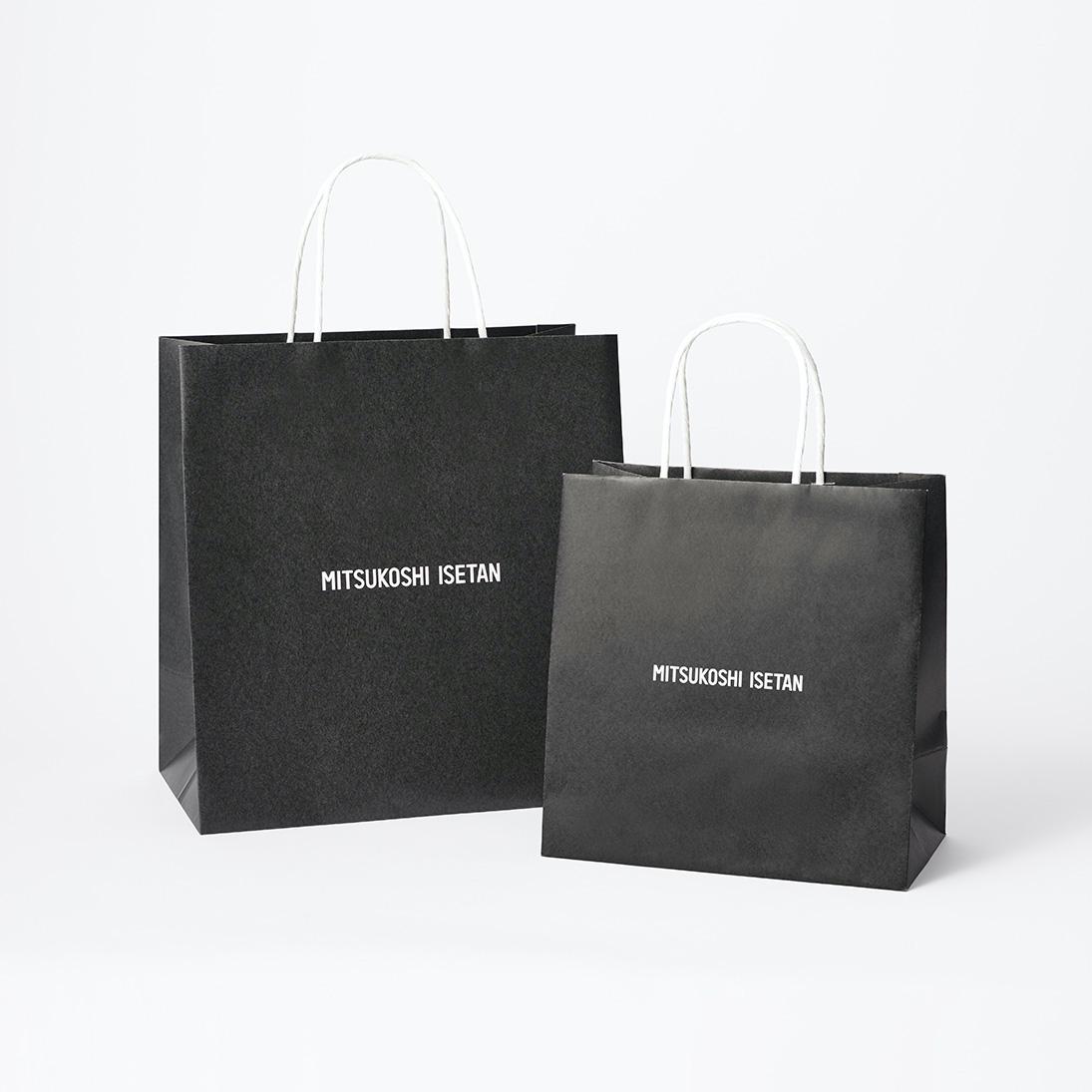 三越伊勢丹HDが食品フロアのプラ製買い物袋を廃止、7月から有料の紙袋に
