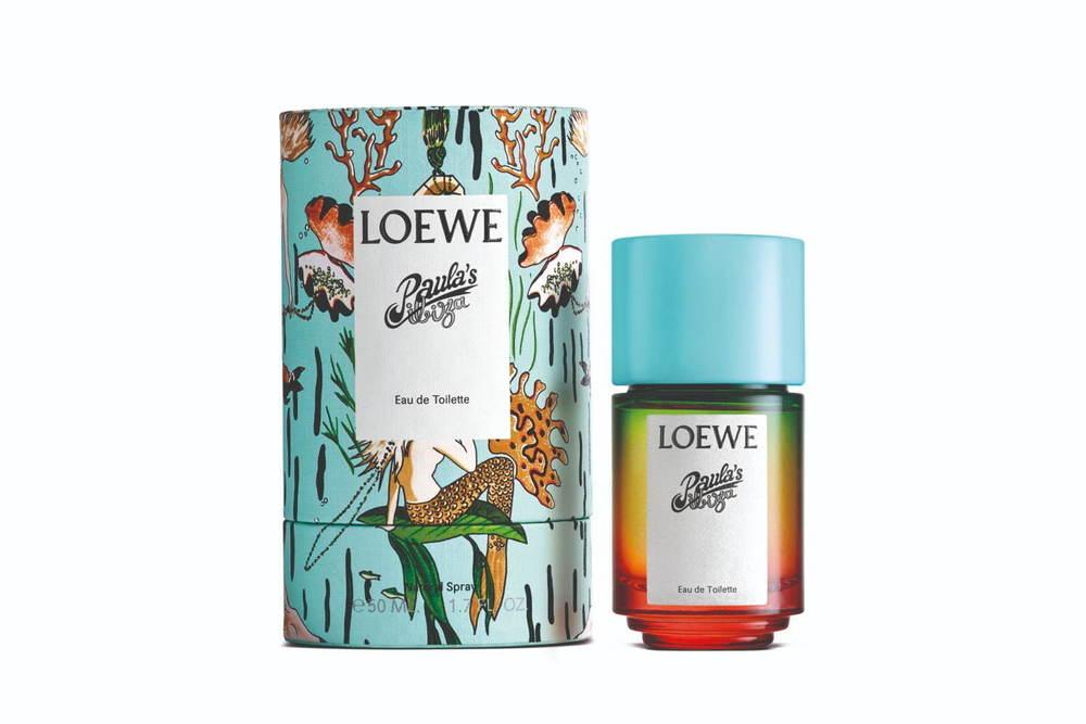 """ロエベ「パウラズ イビザ」のコラボから初のユニセックス香水、""""風のように移り変わる""""官能的な香り -"""