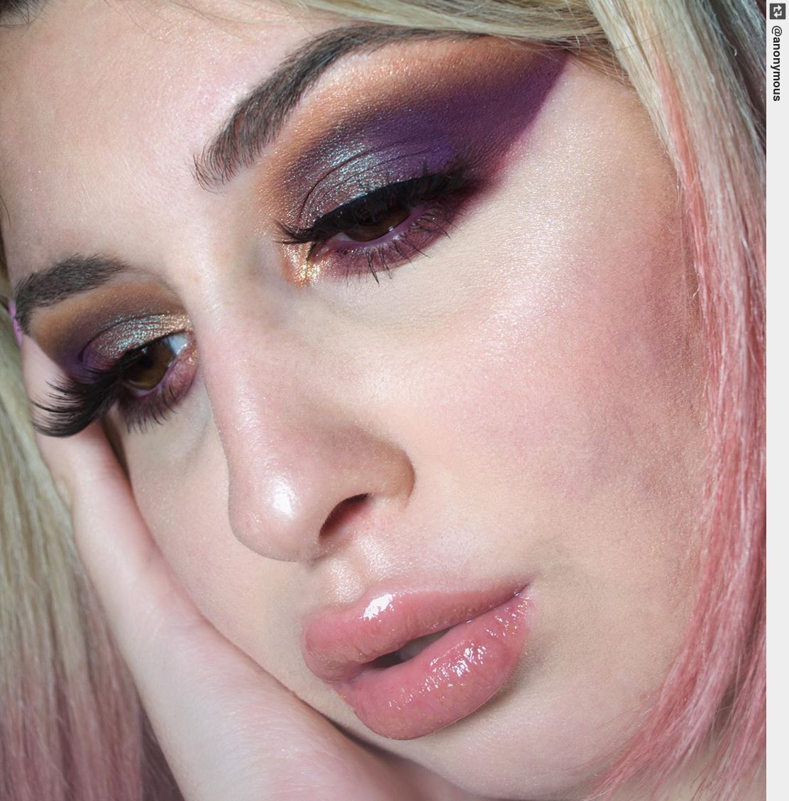 #makeup #makeuplover #makeupaddict  #pinkhaircolor #hairinspo #pinkhair