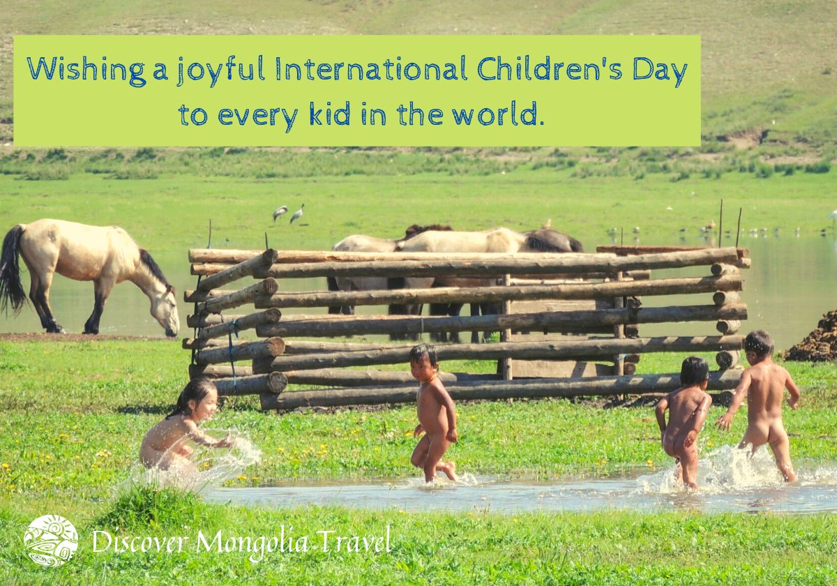 On this very special day, we encourage you to start taking actions for child protection and improving the lives of children. 🙏 May the love and laughter always stay on every child's face around the world ❤️ Love, Discover Mongolia Travel Team  #childrensday2020 #DiscoverMongolia https://t.co/FKnyhGhKXM