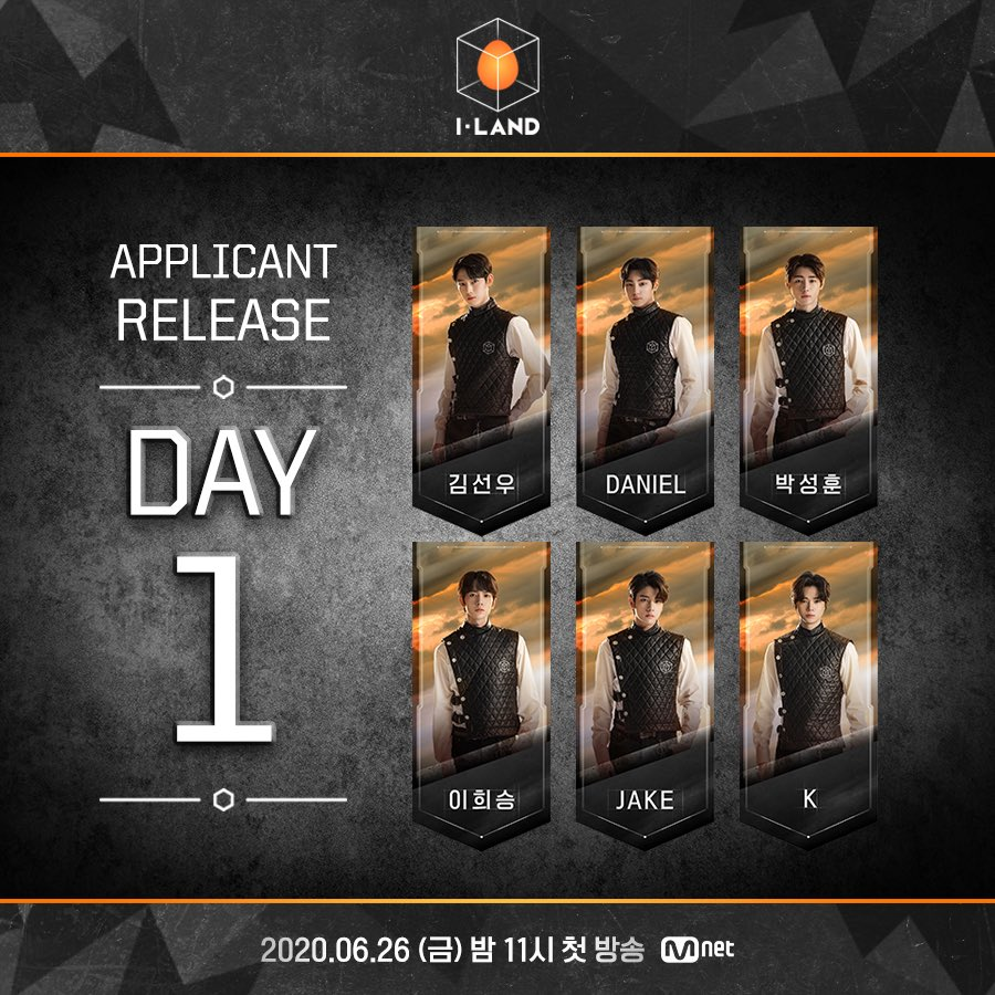 [I-LAND] 지원자 공개 DAY-1   지금 바로 @mnetiland를 CLICK! 지원자를 확인하세요   [I-LAND] Applicant Release DAY-1 CLICK @mnetiland right now! Check out the applicants! Mnet <I-LAND> 2020.06.26(FRI.) 11PM(KST)   #Mnet #엠넷 #ILAND #I_LAND #아이랜드 #Applicant #I_LAND_COMING_SOON