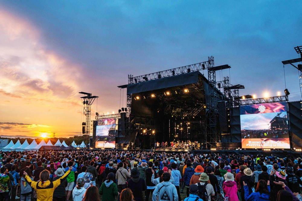 オールナイト野外ロックフェス「ライジングサンロックフェスティバル」北海道で2021年8月開催決定 -