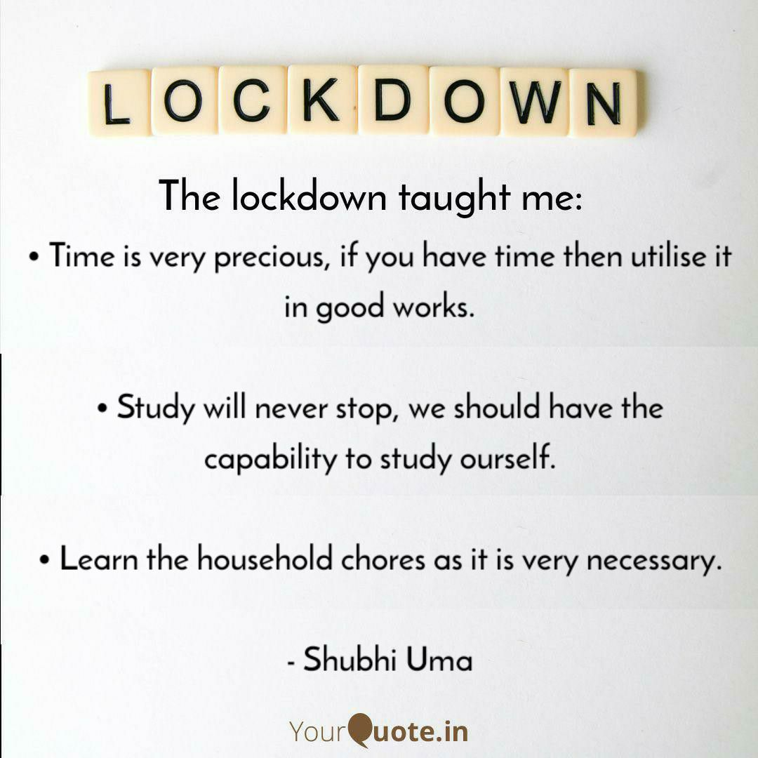 This was the golden chance for the students. ☺️ #thelockdown taught me - #Time  #utiliselockdownwisely  #STUDY  #householdchores #WritingCommunity  Thank-you so much @narendramodi ji @ChouhanShivraj ji